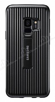 Samsung Galaxy S9 Orijinal Standlı Siyah Kılıf