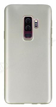 Samsung Galaxy S9 Plus Mat Gold Silikon Kılıf
