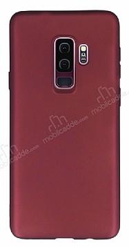 Samsung Galaxy S9 Plus Mat Mürdüm Silikon Kılıf