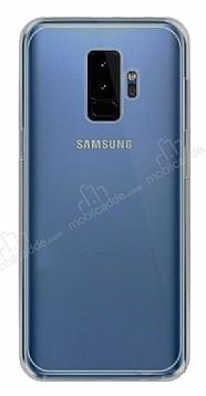 Samsung Galaxy S9 Plus Ultra İnce Şeffaf Siyah Silikon Kılıf