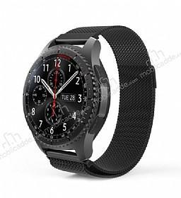 Samsung Gear S3 Frontier Siyah Metal Kordon