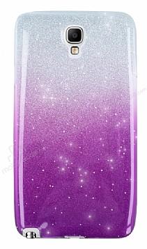 Samsung N7500 Galaxy Note 3 Neo Simli Mor Silikon Kılıf