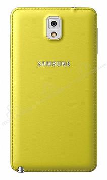 Samsung N9000 Galaxy Note 3 Orjinal Sarı Batarya Kapağı