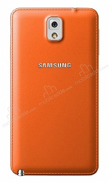 Samsung N9000 Galaxy Note 3 Orjinal Turuncu Batarya Kapağı
