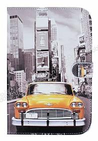 Samsung P550 Galaxy Tab A 9.7 Sarı Taksi Standlı Deri Kılıf