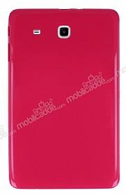 Samsung T560 Galaxy Tab E Pembe Silikon Kılıf