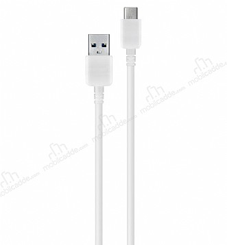Samsung USB Type-C Orjinal 3.0 USB Beyaz Data Kablosu 1m