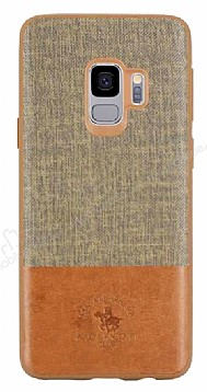 Santa Barbara Virtuoso Samsung Galaxy S9 Deri Kahverengi Rubber Kılıf