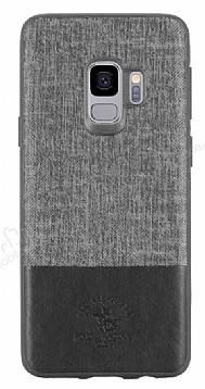 Santa Barbara Virtuoso Samsung Galaxy S9 Deri Siyah Rubber Kılıf