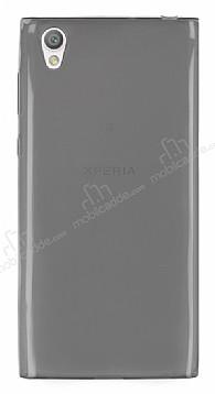 Sony Xperia L1 Ultra İnce Şeffaf Siyah Silikon Kılıf