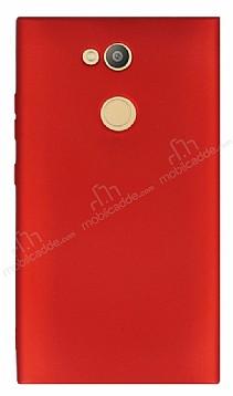 Sony Xperia L2 Mat Kırmızı Silikon Kılıf