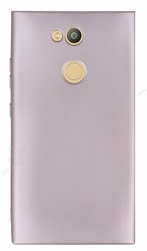 Sony Xperia L2 Mat Rose Gold Silikon Kılıf