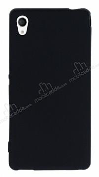 Sony Xperia M4 Aqua Mat Siyah Silikon Kılıf