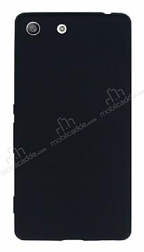 Sony Xperia M5 Mat Siyah Silikon Kılıf