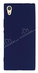 Sony Xperia XA1 Mat Lacivert Silikon Kılıf