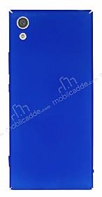 Sony Xperia XA1 Tam Kenar Koruma Lacivert Rubber Kılıf