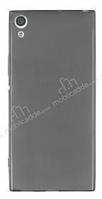 Sony Xperia XA1 Ultra Süper İnce Şeffaf Siyah Silikon Kılıf