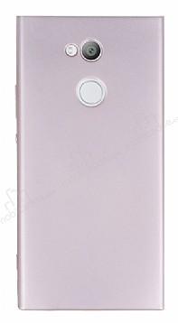 Sony Xperia XA2 Ultra Mat Rose Gold Silikon Kılıf