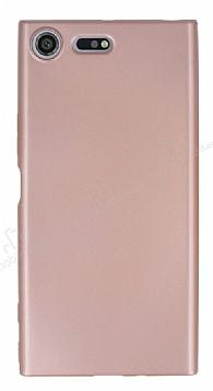 Sony Xperia XZ Premium İnce Mat Rose Gold Silikon Kılıf