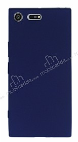 Sony Xperia XZ Premium Mat Lacivert Silikon Kılıf