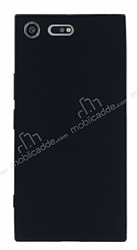 Sony Xperia XZ Premium Mat Siyah Silikon Kılıf