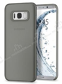 Spigen Air Skin Samsung Galaxy S8 Plus Şeffaf Siyah Rubber Kılıf