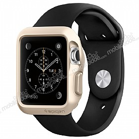 Spigen Apple Watch / Watch 2 Slim Armor Ultra Koruma Gold Kılıf (42 mm)
