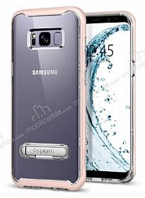 Spigen Crystal Hybrid Samsung Galaxy S8 Pembe Kılıf