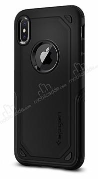 Spigen Hybrid Armor iPhone X Ultra Koruma Siyah Kılıf