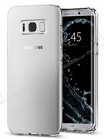 Spigen Liquid Crystal Samsung Galaxy S8 Şeffaf Silikon Kılıf