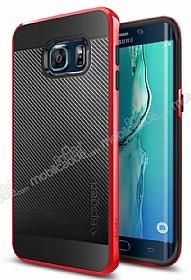 Spigen Neo Hybrid Carbon Samsung Galaxy S6 Edge Plus Kırmızı Kılıf