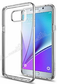 Spigen Neo Hybrid Crystal Samsung Galaxy Note 5 Silver Kılıf