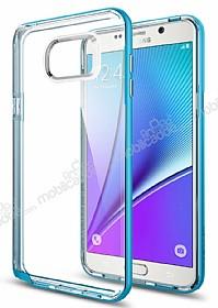 Spigen Neo Hybrid Crystal Samsung Galaxy Note 5 Mavi Kılıf