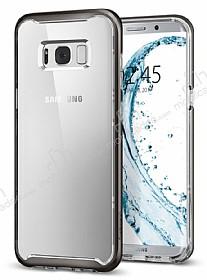 Spigen Neo Hybrid Crystal Samsung Galaxy S8 Plus Gunmetal Silikon Kılıf