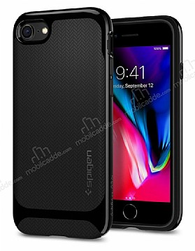 Spigen Neo Hybrid Herringbone iPhone 7 / 8 Shiny Black Kılıf