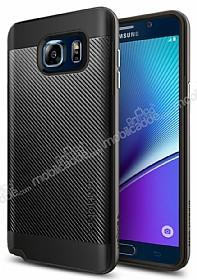 Spigen Neo Hybrid Carbon Samsung Galaxy Note 5 Gunmetal Kılıf
