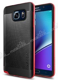 Spigen Neo Hybrid Carbon Samsung Galaxy Note 5 Kırmızı Kılıf