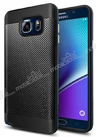 Spigen Neo Hybrid Carbon Samsung Galaxy Note 5 Koyu Mavi Kılıf
