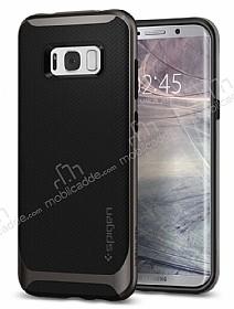 Spigen Neo Hybrid Samsung Galaxy S8 Plus Ultra Koruma Gunmetal Kılıf