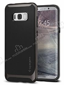 Spigen Neo Hybrid Samsung Galaxy S8 Ultra Koruma Gunmetal Kılıf