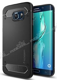 Spigen Rugged Capsule Samsung Galaxy S6 Edge Plus Siyah Kılıf