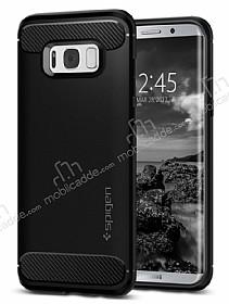 Spigen Rugged Armor Samsung Galaxy S8 Siyah Silikon Kılıf