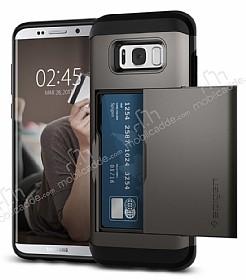 Spigen Slim Armor CS Samsung Galaxy S8 Plus Gunmetal Kılıf