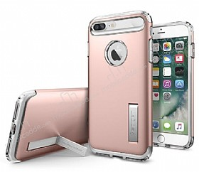 Spigen Slim Armor iPhone 7 Plus Rose Gold Kılıf