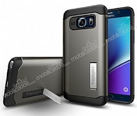 Spigen Slim Armor Samsung Galaxy Note 5 Gunmetal Kılıf