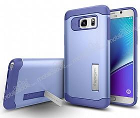 Spigen Slim Armor Samsung Galaxy Note 5 Mor Kılıf
