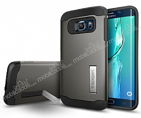 Spigen Slim Armor Samsung Galaxy S6 Edge Plus Gunmetal Kılıf