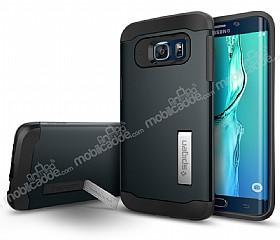 Spigen Slim Armor Samsung Galaxy S6 Edge Plus Koyu Mavi Kılıf