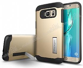 Spigen Slim Armor Samsung Galaxy S6 Edge Plus Gold Kılıf
