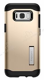 Spigen Slim Armor Samsung Galaxy S8 Plus Gold Maple Kılıf